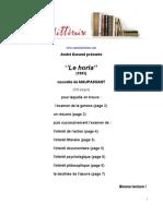 Maupassant Le Horla