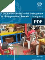 Consultation nationale sur le développement de l'entrepreneuriat féminin à Madagascar