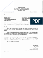 Sep 27 2012 VBL DGCA Endorsement of Wet Lease of Two B737 800 to AI for Haj Ops
