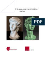 Escaneado 3D de objetos de interés históricocriticado