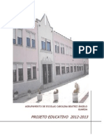 PROJECTO EDUCATIVO 2012 13