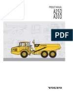 Volvo Dumper A25D & A30D Manual
