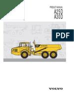 Volvo Dumper A25D & A30D Manual
