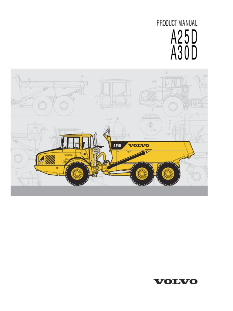 Volvo A30d Wiring Diagram Explained Diagrams Service Manual A Good Owner Example U2022 Articulated Hauler