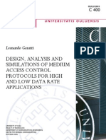 DESIGN, ANALYSIS and Simulation of Mac Protocol for High Low Data Rate