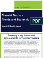 WTTC Monthly Update May 2013