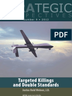 Targeted Killings and Double Standards