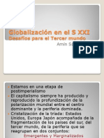 "Power Point ""Los desafíos del tercer mundo"". (Amin, Samir) 2009"