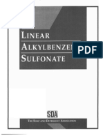 Linear AlkylBenzene Sulfonate Mono Graph