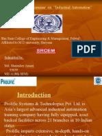 Industrial Automation_ Presentation-Shamsher