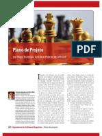 Art 3 - Revista Engenharia de Software - Edicao 3 - Plano de Projeto