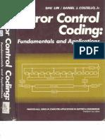 Error Control Coding-Shu Lin & Costello