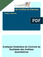 2 Avaliacao Estatistica Do Controle Da Qualidade Das Analises Quantitativas