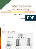 Practice in Geotechnical Design