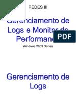 Gerenciador de Logs e Monitor de Performance No Windows Server
