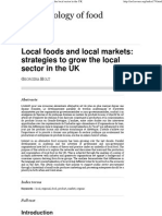Holt 2005 - Local Foods and Local Markets, Strategies to Grow the Local Sector in the UK