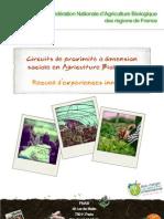 FNAB 2011 – Circuits de proximité à dimension sociale en agriculture biologique. Recueil d'expériences innovantes
