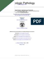 Metabolic Detoxification - Implications for Thresholds