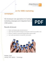 Memos Case Study NoteMe SMS Campaign