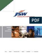 JSW - Corporate Brochure