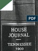 Reelfoot Lake - 1909 Report of Findings - House-Senate Subject Report