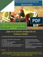 Programa de Segregación en la Fuente de RR.SS MDQ- APECOINCA