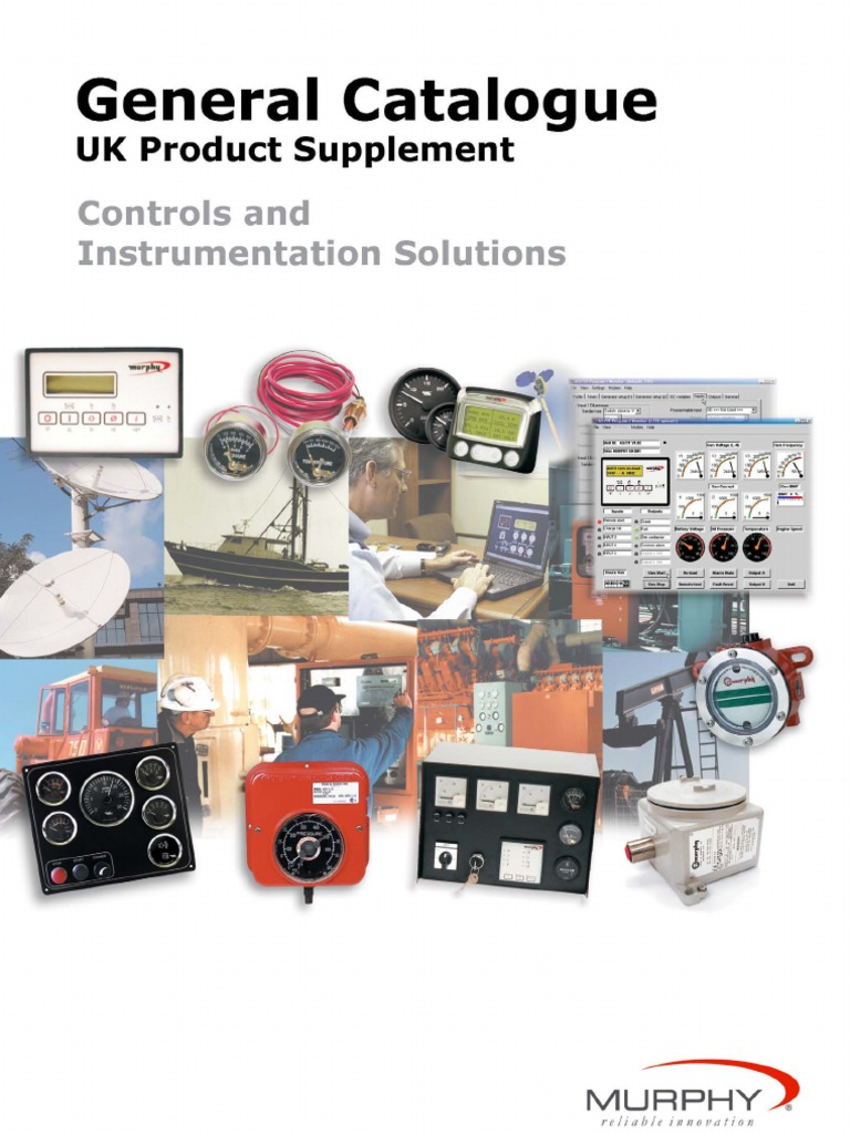 murphy controls and instrumentation catalogue pdf