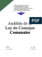 Anais-Analisis Ley Consejos Comunales 2