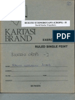 Bukusu Ethnobotany (Crops) - II
