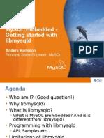 MySQL Embedded