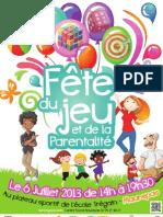 Affiche Fete Du Jeu