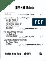 Global Class War Documents