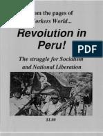 Revolution in Peru WW Pamphlet