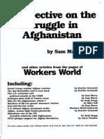Struggle in Afghanistan Pamphlet