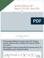 Pengontrol Motor DC Menggunakan P, PI, Mas Aziz(1)