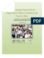 Estrategia Nacional de Seguridad Pública Solidaria de Puerto Rico