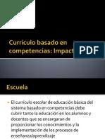 Currículo basado en competencias-Impacto social