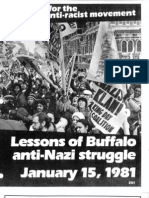 Lessons of Buffalo anti-Nazi struggle