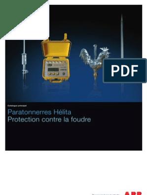 Carte Keraunique Canada.Catalogue General Paratonnerres Helita Pdf