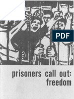 Prisoners Call Out Freedom Pamphlet