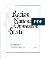 Racism, National Oppression & the State