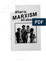 What is Marxism All About