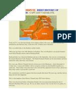 The Kashmir Dispute BY CAPT. AJIT VADAKAYIL
