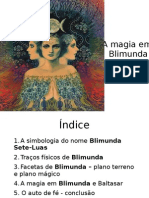 A magia em Blimunda - Cópia