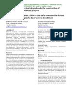 Integracion de Redmine y Subversion en La Construccion de Una Plataforma Para La Prueba de Proyectos de Software