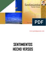 SENTIMIENTOS HECHO VERSOS - POEMARIO - CÉSAR BRÍTEZ ARZAMENDIA - PORTALGUARANI