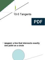 10 5 Tangents