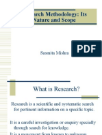 objectives of research methodology