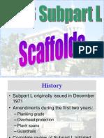 OSHA 500 Scaffold