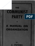 Communist Party Manual of Organization